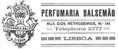 Perfumaria Balsemão - 1910