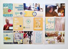 amazing project life pages with a video from the awesome @Andrea Gray {retrohipmama}