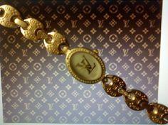 Rare Louis Vuitton Gold-Plated Bracelet Watch Louis Vuitton Watches, Gold Plated Bracelets, Bracelet Watch, Plating, Accessories, Jewelry, Jewlery, Jewerly, Schmuck