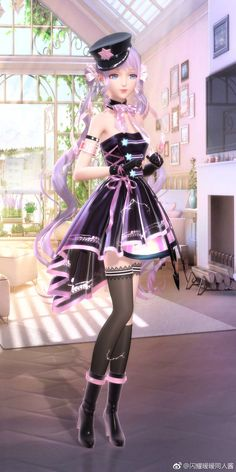 Dress Up Outfits, Anime Outfits, Dresses, Beautiful Girl Sketch, Star Fashion, Girl Fashion, Nikki Love, Anime Girl Drawings, Cute Art Styles