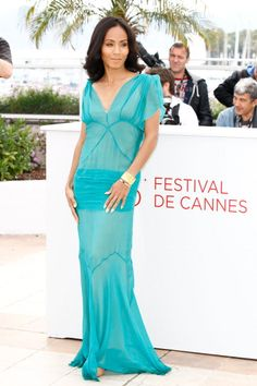 Jada Smith at the Cannes Film Festival - very nice look!