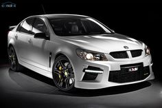 Holden has unveiled its HSV Gen-F line in Australia. The HSV GTS makes of power and is the fastest sedan ever offered by Holden. Chevy Ss, Chevrolet Ss, Supercars, Holden Monaro, Holden Maloo, Pontiac G8, Aussie Muscle Cars, Holden Commodore, Australian Cars