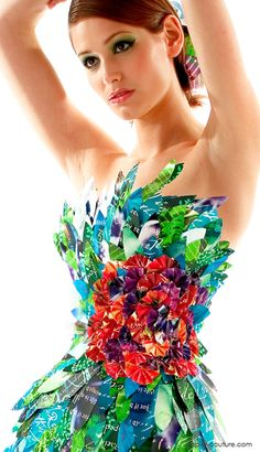 Colorful bodice