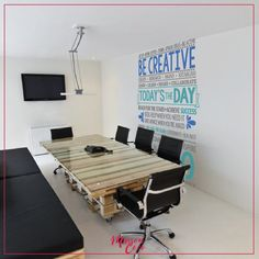 Be Creative - #inspiration #quote #workplace #office #homedecor #decoration #decals #vinilesdecorativos #mty #mexico #shoponline