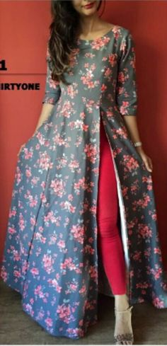 28 Stunning Outfit Ideas You Will Definitely Want To Try - Luxe Fashion New Trends - Fashion for JoJo Simple Kurta Designs, Kurti Neck Designs, Kurti Designs Party Wear, Stylish Dresses For Girls, Stylish Dress Designs, Designs For Dresses, Indian Designer Outfits, Indian Outfits, Designer Dresses