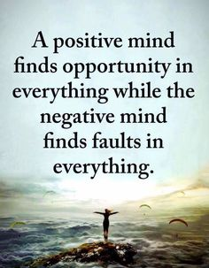A positive mind & a negative mind. A positive mind & a negative mind. Wise Quotes, Great Quotes, Motivational Quotes, Inspirational Quotes, Yoga Quotes, Uplifting Quotes, Awesome Quotes, Daily Quotes, Positive Mind