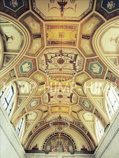 Photography Detroit Museum Art ceiling