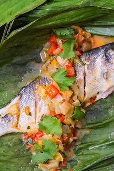 This sea bass escabeche recipe from Marcello Tully is based on a simple Amazonian recipe that uses fresh citrus juice to add acidity to the fish before cooking on a barbecue wrapped in a parcel.