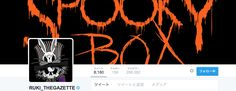 The Gazette new Twitter Icons THE DARK HALLOWEEN NIGHT - SPOOKY BOX - at ZEPP TOKYO