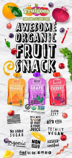 Fruigees on Packaging of the World - Creative Package Design Gallery