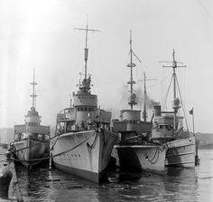 German torpedo boats that were brought to the United States after the 1st World War
