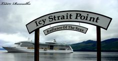 Radiance of the Seas at Icy Strait Point. #alaska