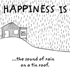 Love it when it rains..