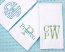 machine embroidery burp cloth for boys - Google Search