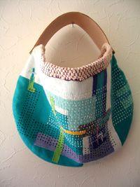 great bag - Fabric artist Takako Nakazato Handmade Handbags & Accessories - amzn.to/2ij5DXx Handmade Handbags & Accessories - http://amzn.to/2iLR27v