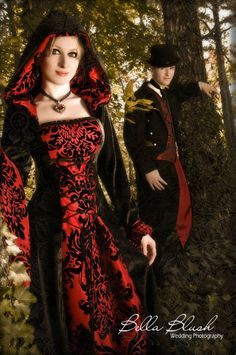 items similar to medieval dress renaissance dress vampire dress hooded gown gothic wedding dress on etsy - Halloween Wedding Gown