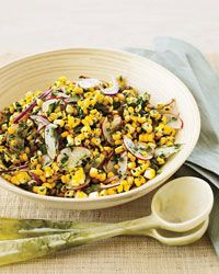 Raw Corn and Radish Salad with Spicy Lime Dressing Recipe on Food & Wine