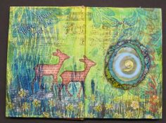 Art journal: Hertjes