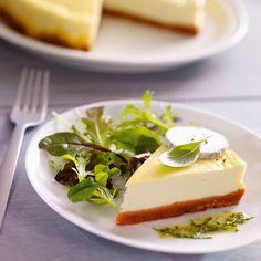 Recette Cheesecake Salé à la Provençale : Francine, recette de Cheesecake Salé à la Provençale pour 6 à 8