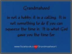 Grandmahood ...