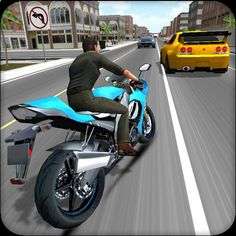 Moto Racer 3D v20170626 (Mod Apk Money) is one of the most exciting racing games. Drive a motor bike and avoid traffic cars and trucks while increasing speed to the limits. You can drive on a two- or single way road. While dodging traffic on a high speeds you gain money and you can purchase other better and faster bikes. Drive fast and safe. Avoid police cars big trucks and road blocks. Increase your speed and beat everyone in this crazy racing game. DOWNLOAD: Moto Racer 3D v20170626 (...