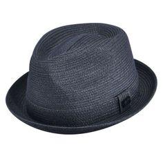 a79e712421550 Billy Toyo Straw Braid Fedora Hat