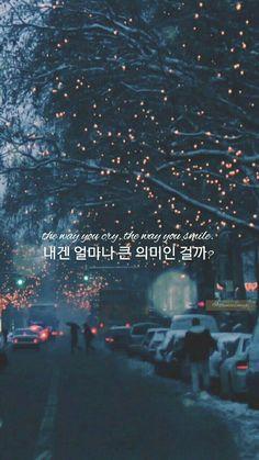 New Exo Aesthetic Wallpaper Lyrics Ideas Korea Wallpaper, K Wallpaper, Wallpaper Quotes, Wallpaper Backgrounds, K Quotes, Bts Lyrics Quotes, Korean Words Learning, Korean Language Learning, Korea Quotes