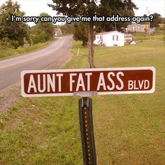 1 2 3 4 5 6 7 8 9 10 Here are the top 10 funniest road signs and street names we came across. The post Top 10 Funniest Road Signs And Street Names appeared Funny Street Signs, Funny Road Signs, Road Planner, Cool Pictures, Funny Pictures, Funniest Pictures, Funny Quotes, Funny Memes, It's Funny