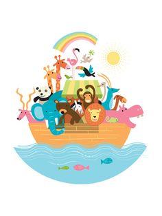 Arca de Noé  Pôsteres na AllPosters.com.br