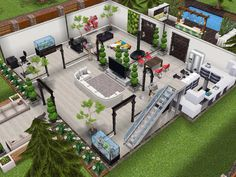 House 15 ground level  #sims #simsfreeplay #simshousedesign