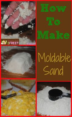 How To Make Moldable Sand. This sand would also be beautiful in a room that has a sea, celestial, or beach theme. This room will smell amazing and look beautiful!
