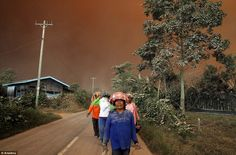 After an eruption in 2013, more than 5,000 people who were evacuated are still living in s...