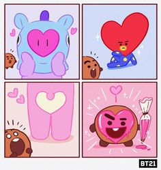 Find images and videos about kpop, and tata on We Heart It - the app to get lost in what you love. Hoseok Bts, Bts Bangtan Boy, Jimin Fanart, Mini Comic, Bts Drawings, Line Friends, Bts Chibi, Kpop, Bts Fans