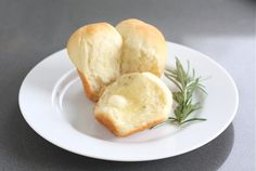 Potato Rosemary Dinner Rolls | Two Peas and Their Pod