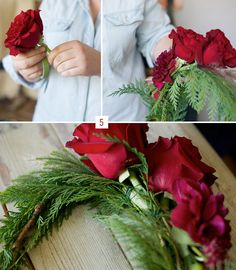 Did you love the winter flower crown from the cozy winter inspiration we shared earlier today? I know I did and I asked Recycled Love Storyif she could share how she made it. For you lovely winter brides who love the look of a flower crown, this is perfect for your winter wedding. :) Thanks...