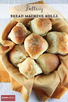 Make-Ahead Buttery Bread Machine Rolls