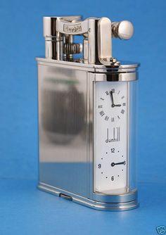 RDM - Rolex Dunhill Montblanc Luxury Collectors & Connoisseurs International Club -  Per info e acquisti: Danilo Arlenghi 335 6815268 daniloarlenghi@partyround.it Photo 1 : Dunhill dual clock lighter