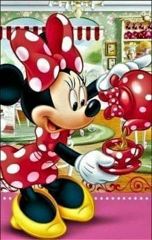 A 126 pieces jigsaw puzzle from Jigidi Mickey Minnie Mouse, Mickey Mouse Images, Minnie Mouse Pictures, Mickey Mouse Cartoon, Disney Mouse, Mickey Mouse And Friends, Retro Disney, Art Disney, Disney Kunst