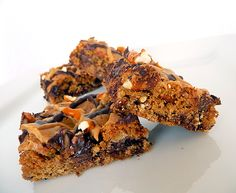 Chocolate Chip & Pretzel Cookie Bars