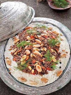 Duvaklı pilav, Turkey