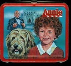 Annie Vintage 1981 Lunch Box lunch box