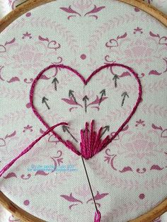&Stitches: Long-and-Short Stitch Tutorial Hand Embroidery Flowers, Learn Embroidery, Silk Ribbon Embroidery, Crewel Embroidery, Hand Embroidery Patterns, Cross Stitch Embroidery, Embroidery Designs, Embroidery Stitches Tutorial, Embroidery Techniques