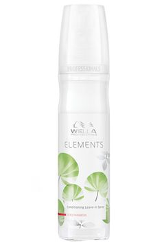 Wella Professionals Elements Renew Leave-In Wella Professionals Elements Renew Leave In Conditioner Spray is a life-saver. Change the way you feel about your hair today with the magic of professional care. This is an innovative, ingenious condi http://www.MightGet.com/january-2017-11/wella-professionals-elements-renew-leave-in.asp