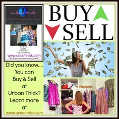 We are accepting new #curvy #clothes as of February 1st. #Earn #Extra #Cash leaning out your closets. #buy and #sell at #urban #thick today!