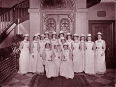 Medical - Hospital - Photo - Victorian Hospital - Nurses 1875