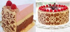 Darlenes Recipe: Mousse Majesty Cake  - Baking Queen Darlene, finalist on The American Baking Competition