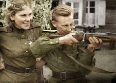 "historywars: ""  Smart, beautiful and deadly, 19 year old Russian sniper Roza Shanina had 54 confirmed kills """