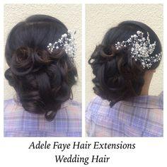 Wedding hair on the beautiful Nadia! ✂️