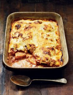 This rich squash parmigiana recipe is delicious on its own, or serve as a side dish with a roast chicken.