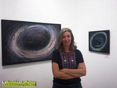 """Hasta el 30 de Septiembre de 2012.    En la Sala O'Daly de Santa Cruz de la Palma.    Exposición de pintura """"Galaxias y otros universos"""""""